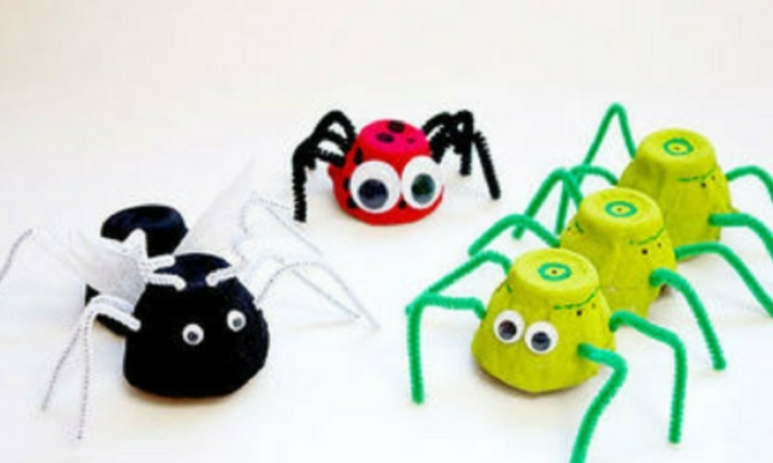 insectos-arañas-cartones-huevos