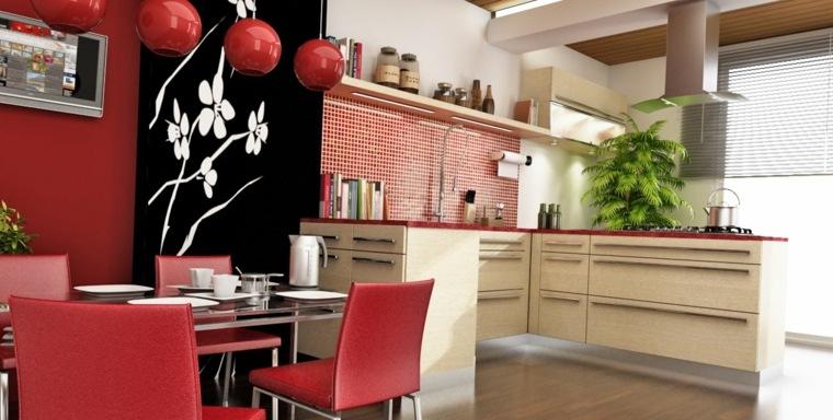interiores de casas-cocinas-asiaticas