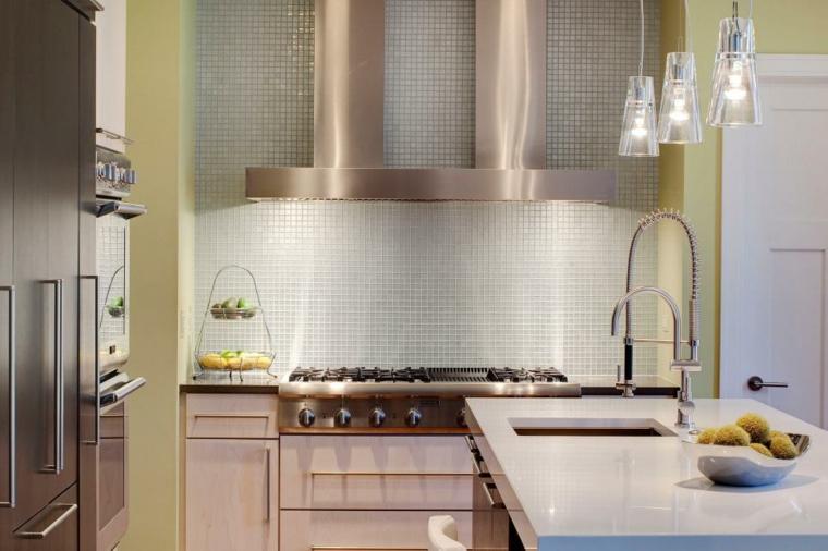 interiores de casas modernas-cocinas