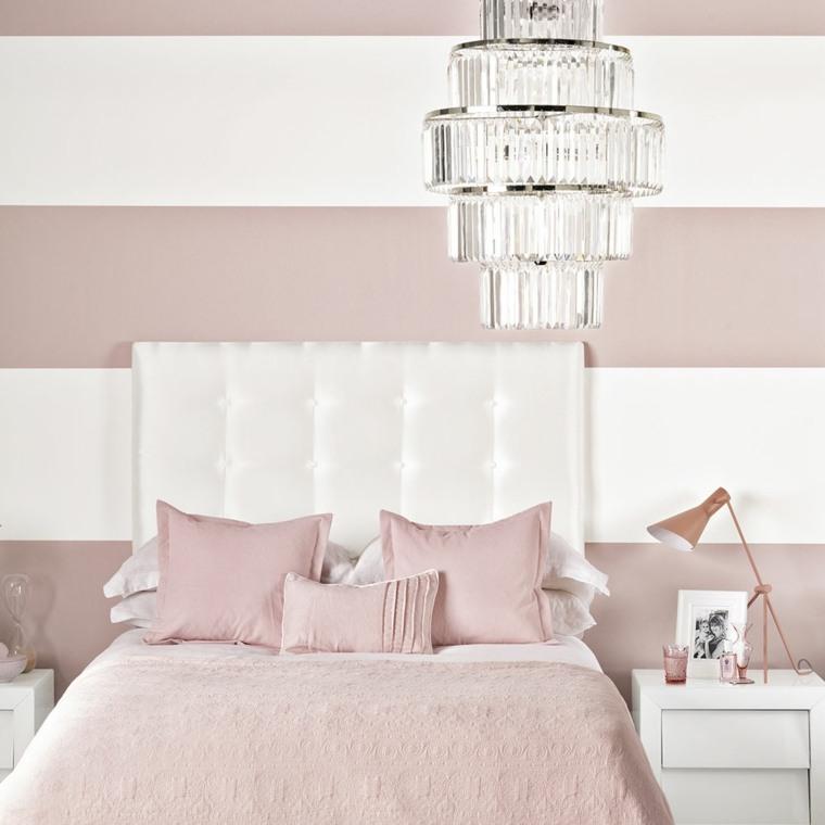 interiores de recamaras-blanco-rosa