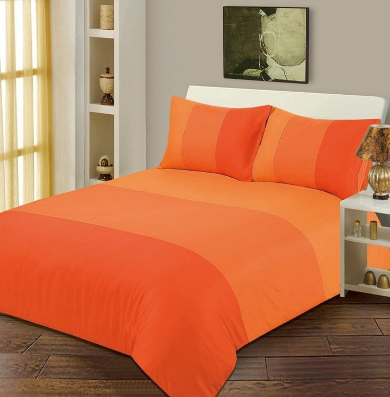 interiores de recamaras-pequenas-naranja