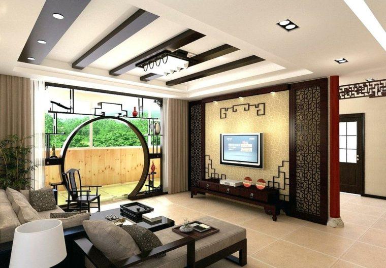 interiores modernos-asiaticos-salon