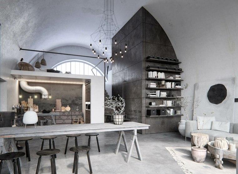 interiores modernos-comedor
