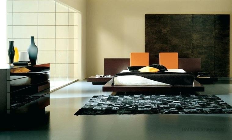 interiores modernos-dormitorios-asiaticos