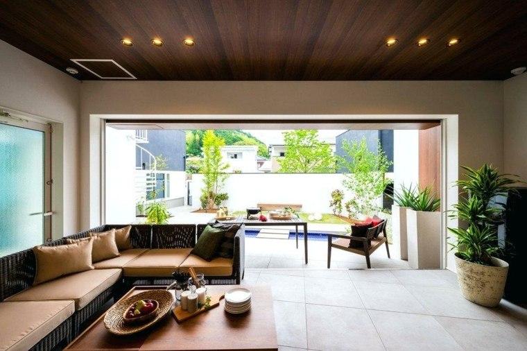 interiores modernos-luminosos-salones-asiaticos