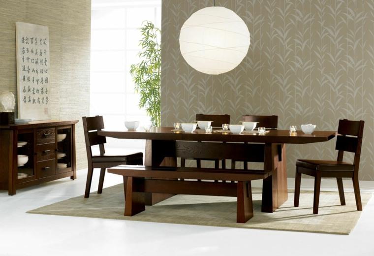 interiores modernos-salones-comedores-asiaticos
