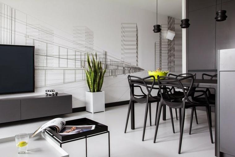 interiores modernos-salones-estilo-asiatico