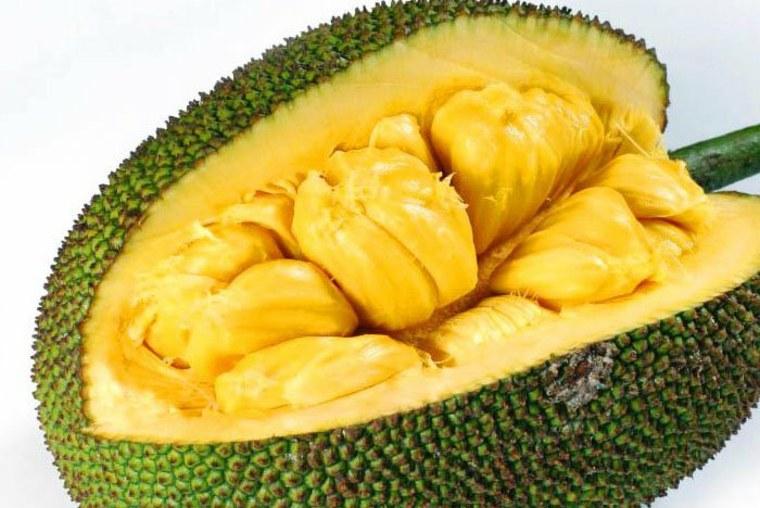 El tamaño del jackfruit sugiere que es difícil de preparar