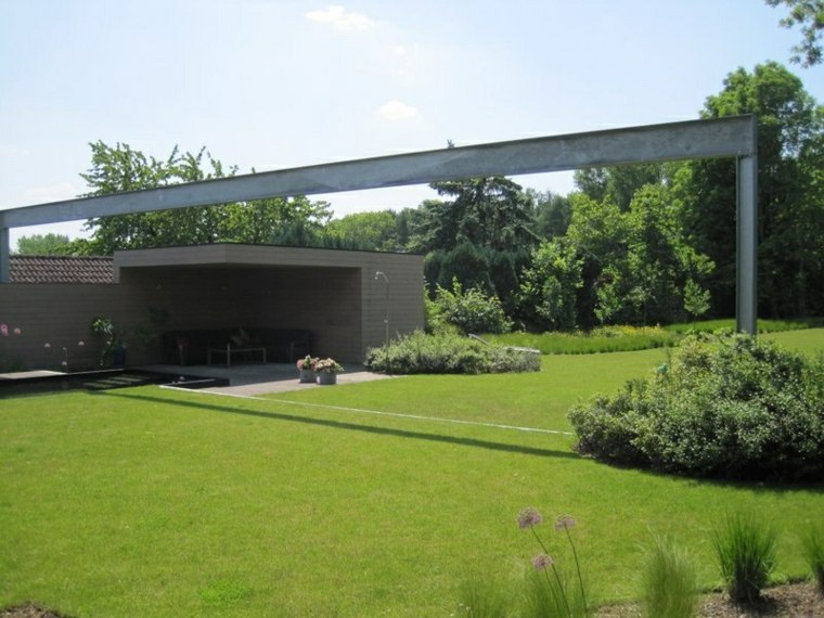 100 ideas para jardines minimalistas modernos e - Jardines modernos minimalistas ...