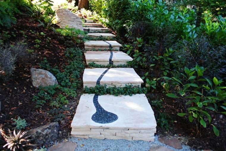 jardinería sendero-de-piedras (2)