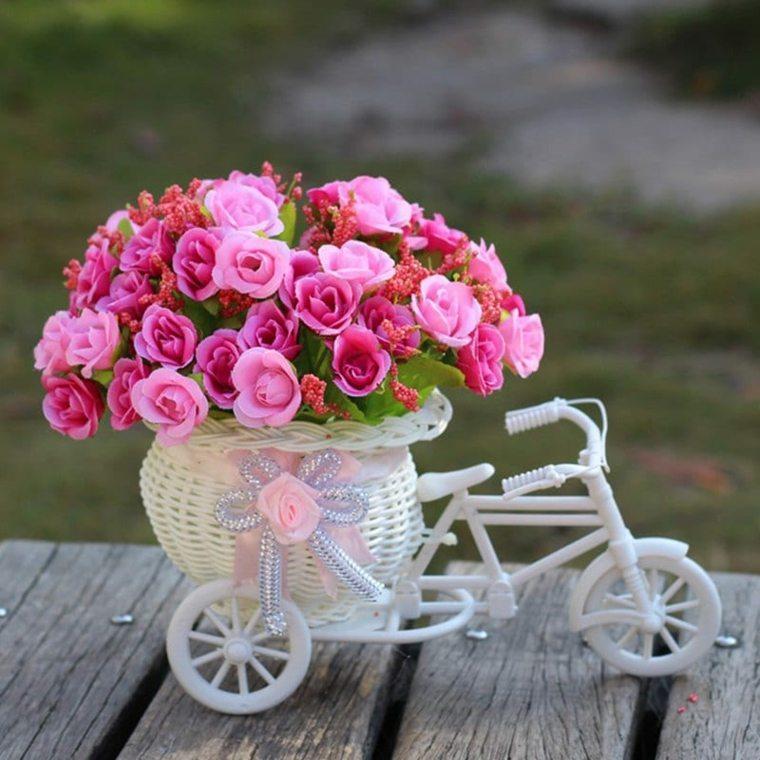 jarrones con flores-artificiales-decorar
