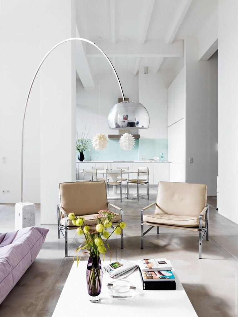 decoración de salón moderno