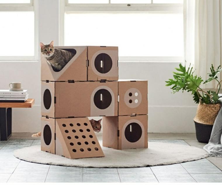 los gatos diseño estructuras juegos