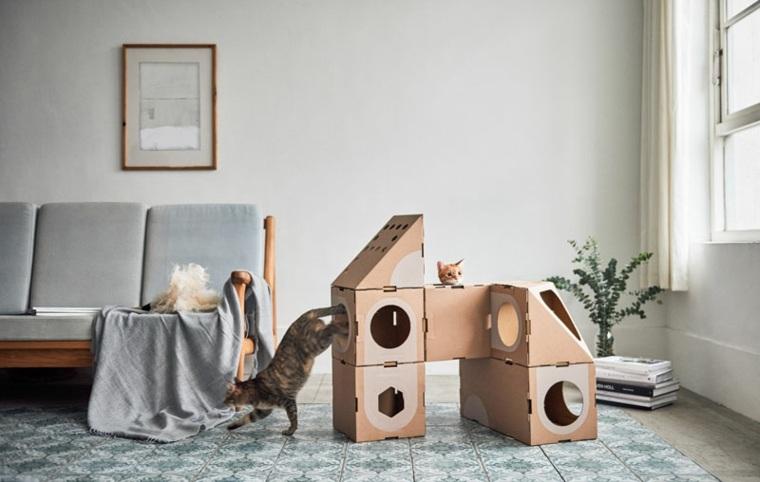 los gatos diseño muebles frescos