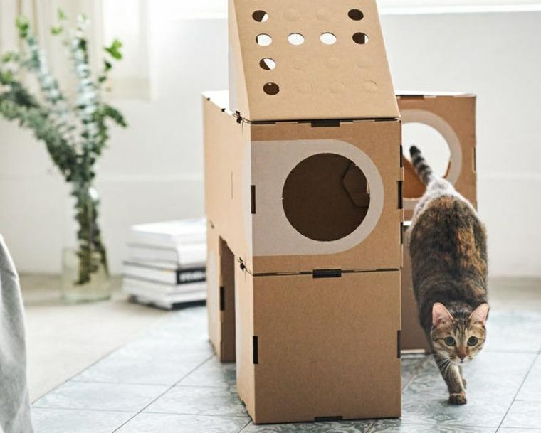 los gatos diseño varios estilos diseño