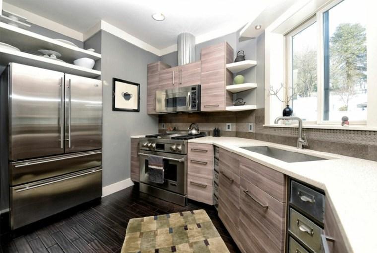 gabinetes de cocina modernos