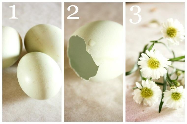 manualidades desde casa-huevos-flores