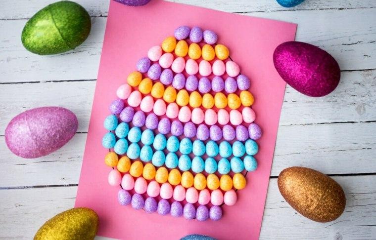 Manualidades en casa para hacer con los niños en Pascua -