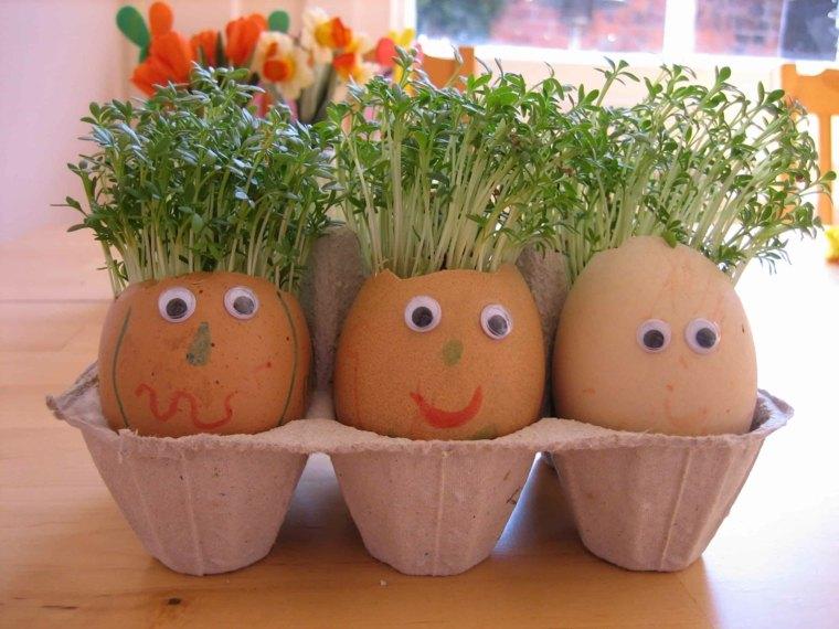 manualidades en casa-huevos-autenticos
