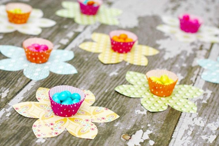 manualidades en casa-pascua-flores
