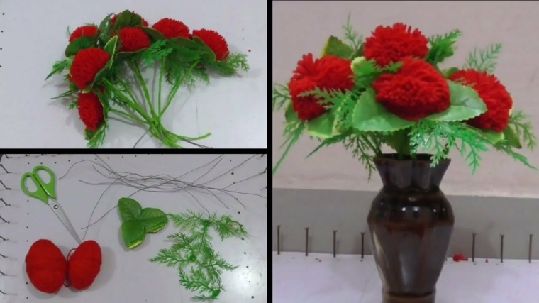 manualidades para hacer en casa-flores