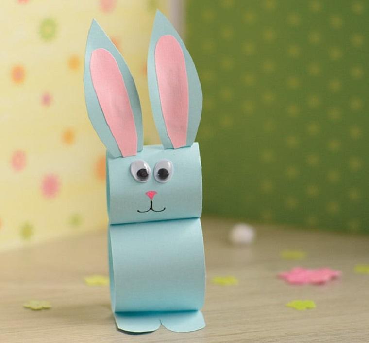 manualidades para niños-conejo-papel-opciones