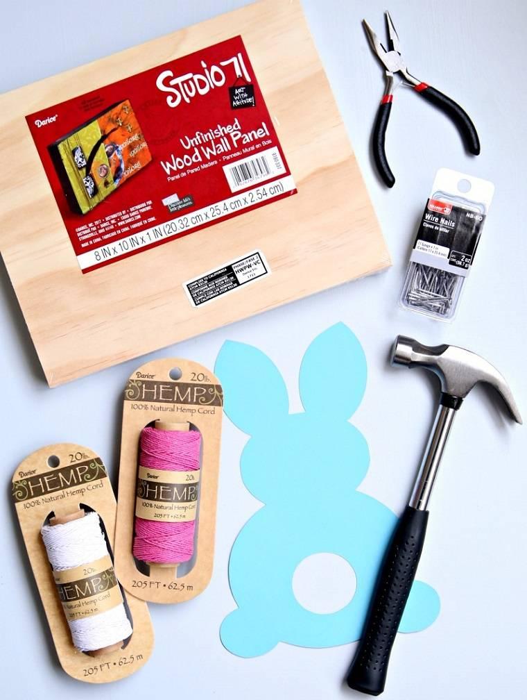 manualidades-para-ninos-primavera-ideas-conejo-materiales
