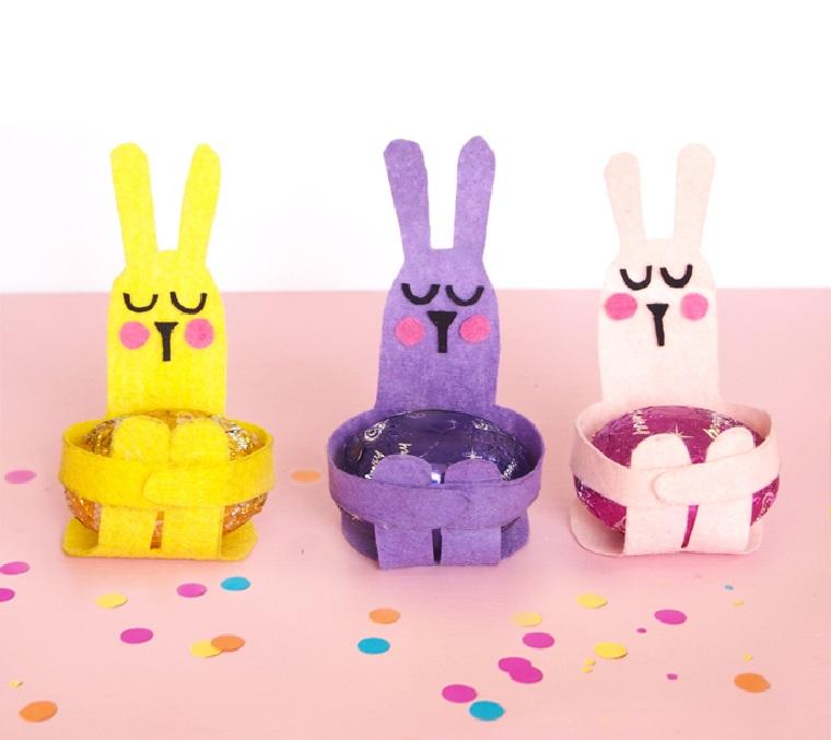 manualidades para niños-primavera-ideas-conejos