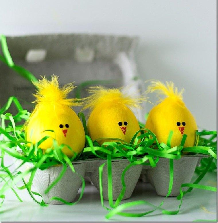 manualidades-para-ninos-primavera-ideas-huevos-amarillos