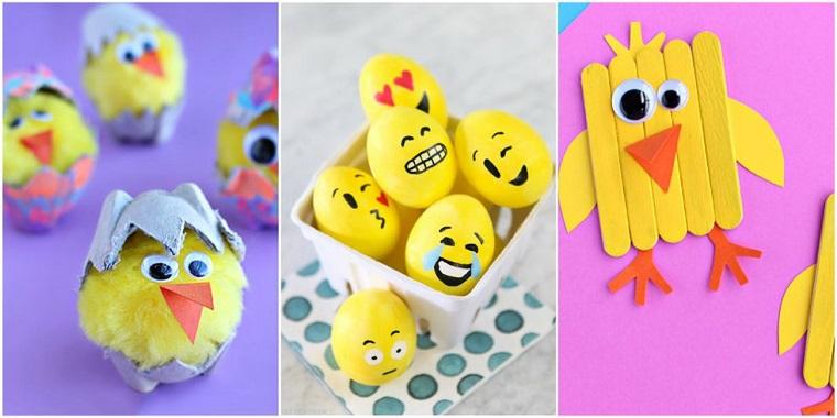 Manualidades para ni os que pueden hacer en primavera for Easter crafts for elementary students