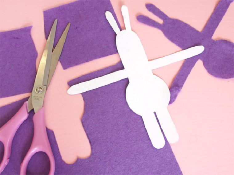 manualidades para niños-primavera-ideas-recortar-papel