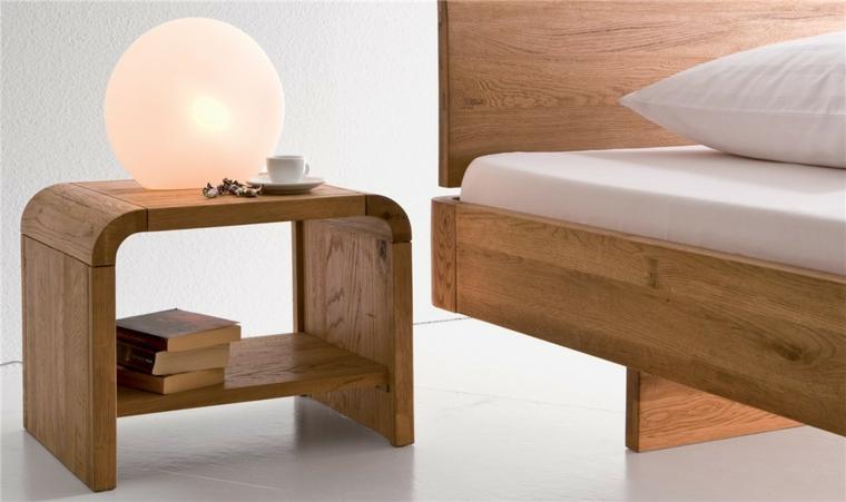 mesas de madera-modernas-noche