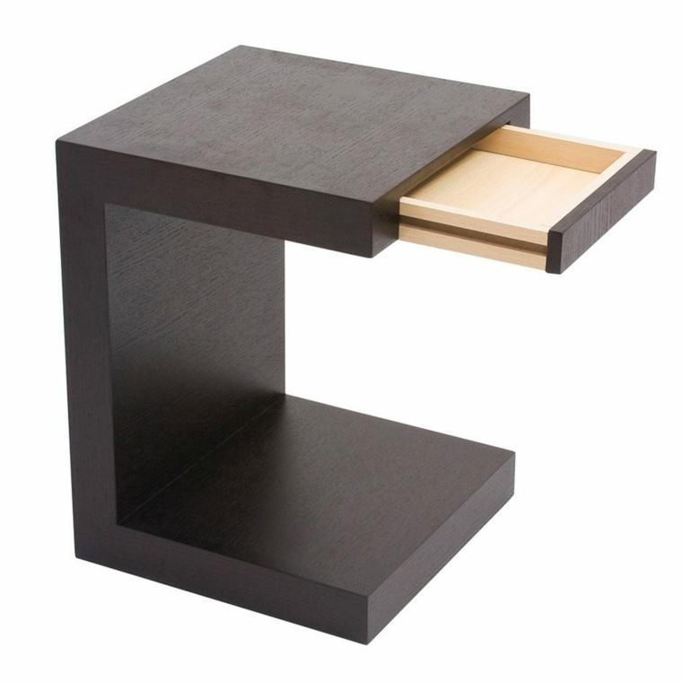 mesas modernas-decorar-dormitorios