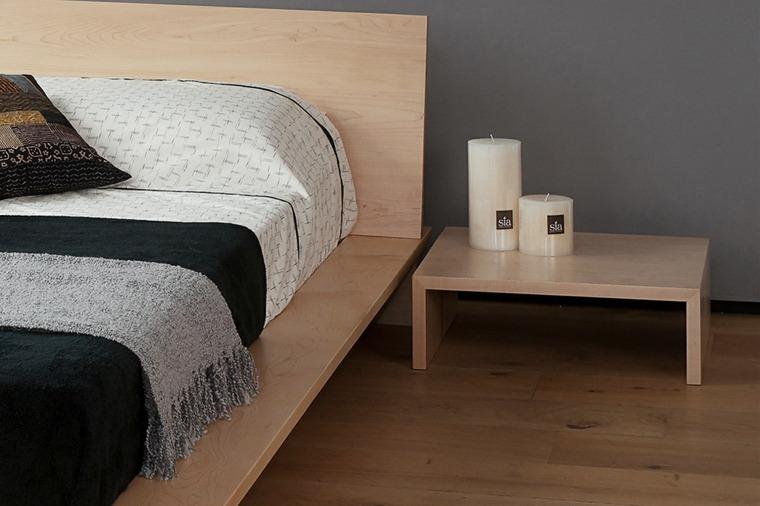 mesas modernas-madera-pequenas-decorar