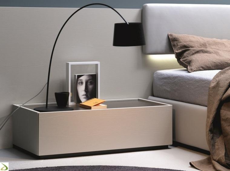 mesas modernas-noche-decorar-dormitorios