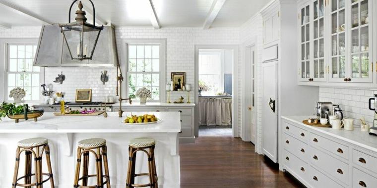 modelos de cocinas blancas