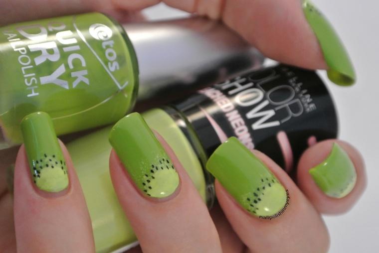 Diseños para uñas modernas y primaverales, llenas de color -
