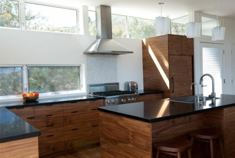 Conjunto de muebles de cocina Ikea de madera