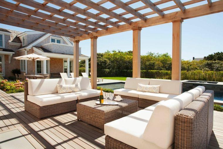 muebles-jardin-rattan-pergola-madera