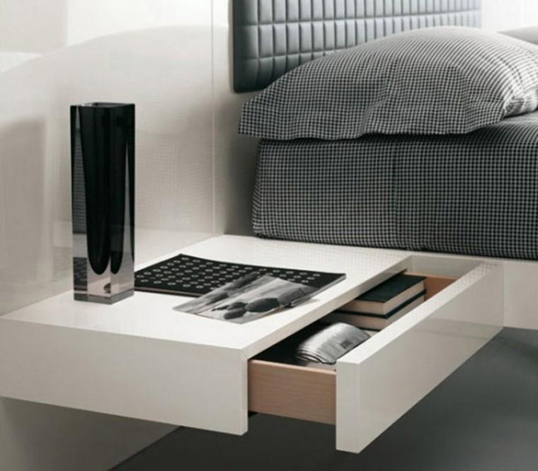 muebles modernos-mesitas-noche-decorar