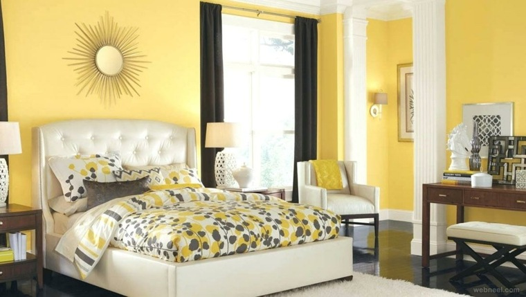 muebles para recamara-color-amarillo