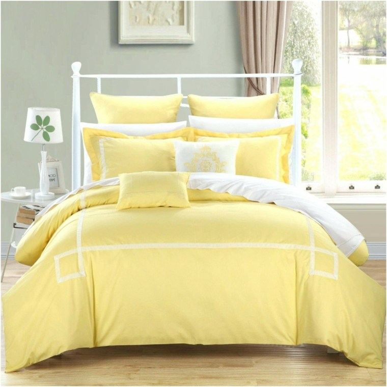 muebles recamaras-decoraciones-amarillas