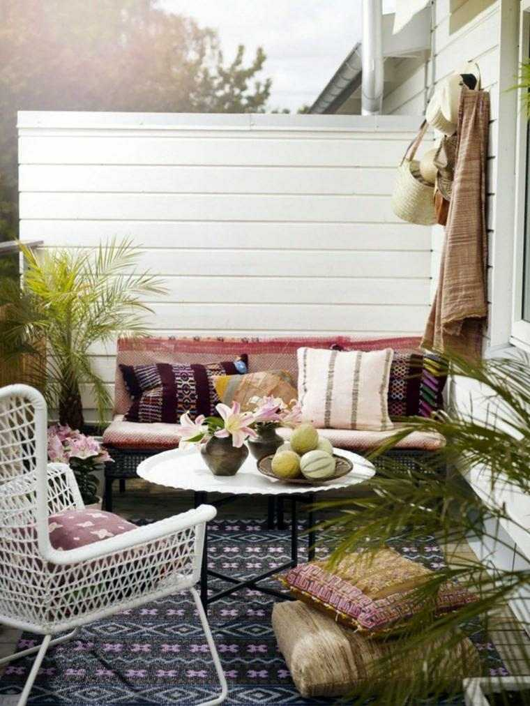 ideas para balcones de estilo chill out
