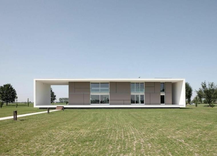 casa de una planta estilo minimalista