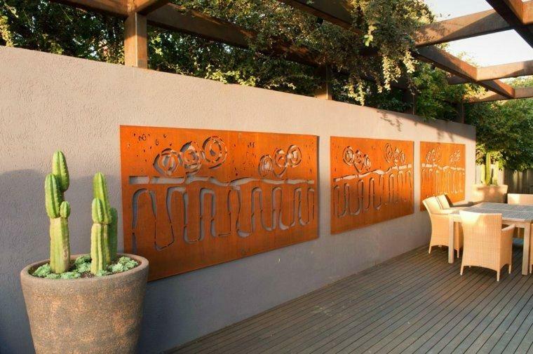 paneles de Acero Corten
