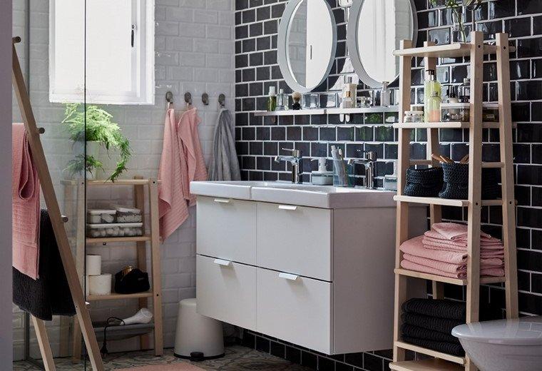 pared-bella-color-negro-muebles-ikea