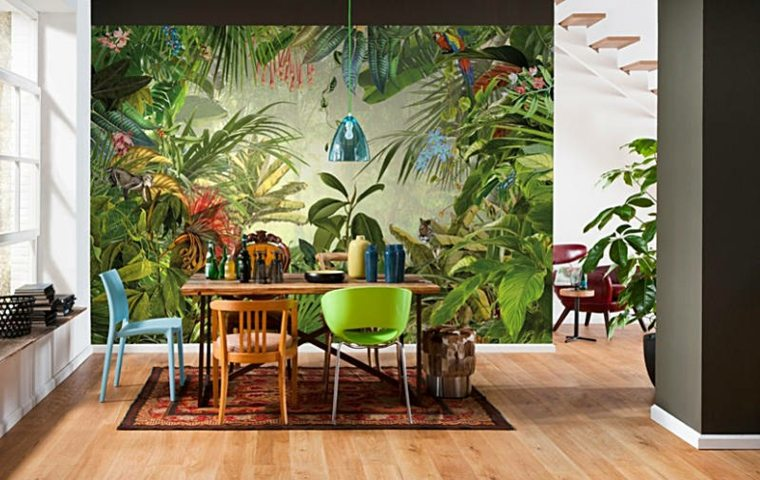 pared-diseño-tropical