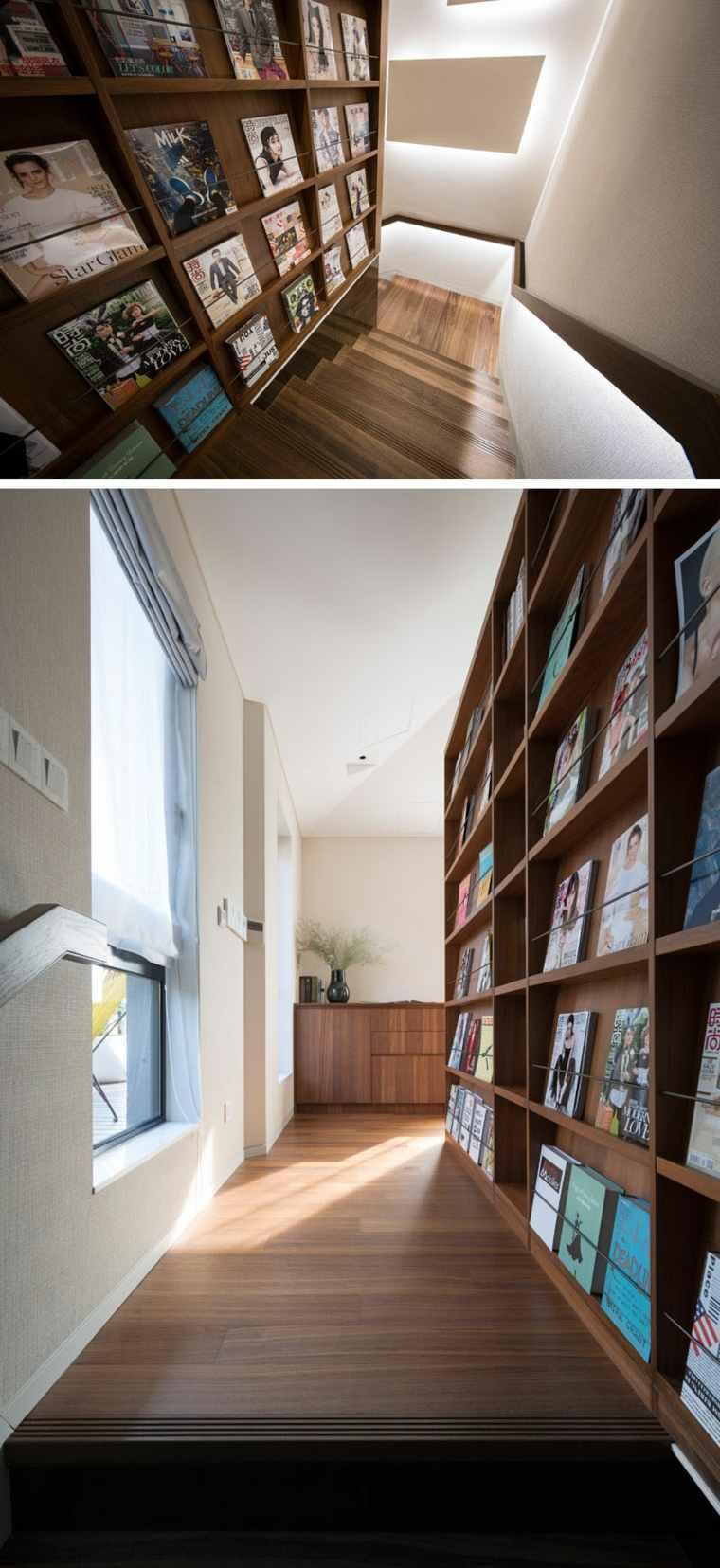 habitación oculta tras una pared falsa