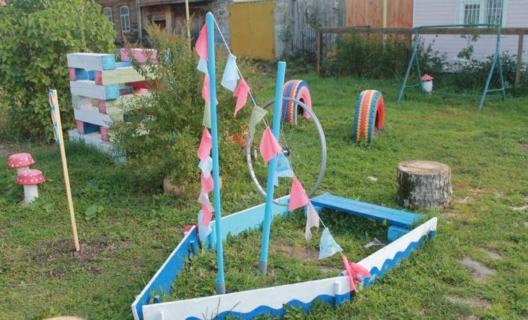parque infantil barco