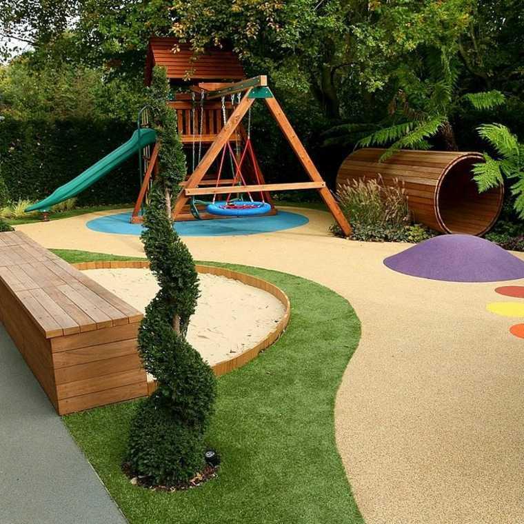 parque infantil moderno